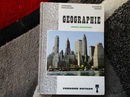 """Géographie """"Classes De Terminales"""" (Coquery, Guglielmo, Lacoste, Ozouf) éditions Fernand Nathan De 1968 - Books, Magazines, Comics"""