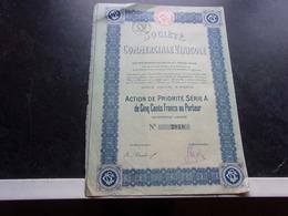 COMMERCIALE VINICOLE (1920) - Shareholdings