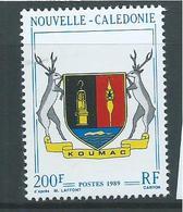 New Caledonia 1989 Coat Of Arms Koumac 200 Fr Single MNH - Unused Stamps