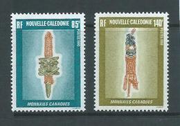New Caledonia 1990 Canaque Money Set Of 2 MNH - New Caledonia