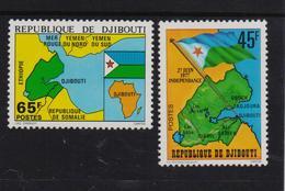 Djibouti 1977, Complete Set, MNH. Cv 4 Euro - Djibouti (1977-...)