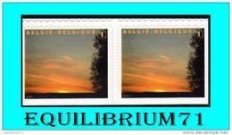 3984Ab/Ac** Timbres De Deuil / Rouwzegels - BELGIQUE - Belgique
