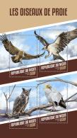 NIGER 2018 MNH** Birds Of Prey Greifvögel Raubvögel Oiseaux De Proie M/S - OFFICIAL ISSUE - DH1815 - Arends & Roofvogels