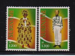 Surinam, Costumes, Minrs 1825-1826, MNH. Cv 3,20 Euro - Surinam