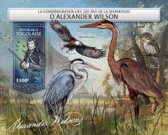 TOGO 2018 MNH** Alexander Wilson Birds Vögel Oiseaux S/S - OFFICIAL ISSUE - DH1815 - Vogels
