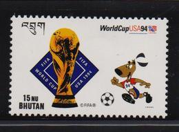 Bhutan 1994, Spots, Soccer, FIFA, Minr 1533, MNH - Bhutan