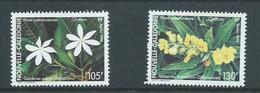 New Caledonia 1990 Flowers Set 2 MNH - New Caledonia