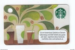 Geschenkkarte Starbucks Card Gift   Mini Karte - Gift Cards