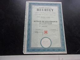 HEURTEY - Shareholdings