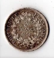 FRANCE . 5 FRANCS 1874 A . HERCULE . ARGENT - Réf. N°4B - - Francia