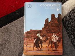 """Notions De Géographie Générale, Le Continent Africain """"Spécimen"""" 6e  (L. Pernet) éditions Hachette De 1963 - Books, Magazines, Comics"""