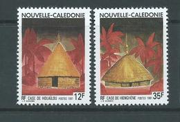 New Caledonia 1991 Native Huts Set 2 MNH - New Caledonia