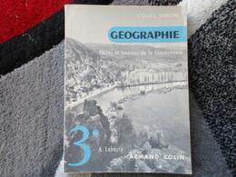 """Géographie """"Terres Et Hommes De La Communauté""""  Spécimen 3e  (A. Labaste) éditions Armand Colin De 1959 - Books, Magazines, Comics"""