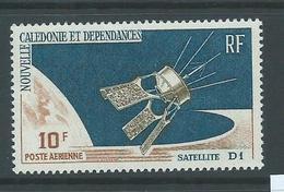 New Caledonia 1966 Satellite 10 F Airmail Single MNH - New Caledonia