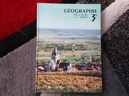 Géographie / Spécimen 3e  (A. Blanc Et L. Pernet) éditions Hachette De 1960 - Books, Magazines, Comics