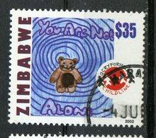 Zimbabwe 2002 $35  Teddy Bear Issue #915 - Zimbabwe (1980-...)