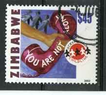 Zimbabwe 2002 $45  Telephone Issue #916 - Zimbabwe (1980-...)