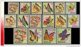 Burundi 0274/89**  Papillons  MNH - Burundi