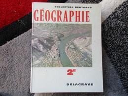 """Géographie Générale Physique Et Humaine """"Spécimen Classe De Seconde"""" (S. Derruau - Boniol) éditions Delagrave De 1961 - Books, Magazines, Comics"""