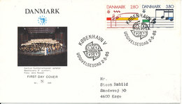 Denmark FDC EUROPA CEPT 2-5-1985 On Cover With Cachet - Europa-CEPT