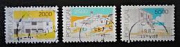 COURANTS 1985 - OBLITERES - YT 1640/42 - MI 1661/63 - Oblitérés