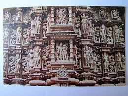 INDIA - KHAJURAHO - Sculptures Of Lakshmana Temple - 1976 - India