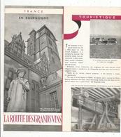 Dépliant Touristique , 6 Pages , EN BOURGOGNE , La ROUTE Des GRANDS VINS , Frais Fr 1.45 E - Dépliants Turistici