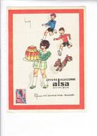 46021 -d6- Alsa Chimique, Levure Alsacienne, Qui M'aime Me Suive - Publicité