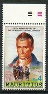 Mauritius 1991 Rs4  Joseph Barnard Issue #736 - Mauritius (1968-...)