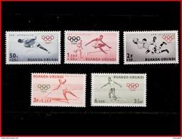 Ruanda 0219/23**  Jeux Olympiques De Rome MNH - Ruanda-Urundi