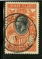 Cayman Islands 1935 1 1/2p Coconut Palms Issue #88 - Iles Caïmans