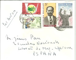 LETTER 1972 - Madagascar (1960-...)