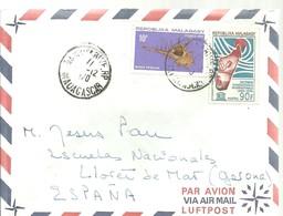 LETTER 1970 - Madagascar (1960-...)