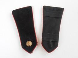 SANTE' MILITAIRE FRANCAISE 2a G.M. EPAULETTES - FRENCH MEDICAL CORPS SHOULDERS EPAULETTES 2 W.W - Uniforms