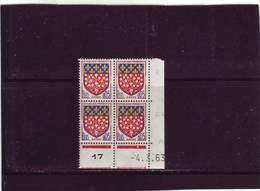 N° 1352 - 0,05F Blason D'AMIENS - Paire C+D - 1° Tirage Du 8.1.63 Au 5.3.63 - 4.03.1963 - - 1960-1969
