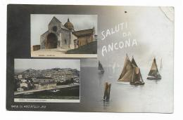 SALUTI DA ANCONA - VIAGGIATA FP - Ancona