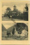 Bodenburg - Kirche - Gedenkstein - Verlag A. Preikschaf Lüneburg - Gel. 1957 - Bad Salzdetfurth