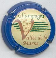 CAPSULE-CHAMPAGNE VALLEE DE LA MARNE N°12 Contour Bleu - Vallée De La Marne