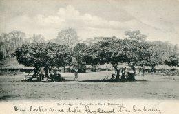 DAHOMEY - En Voyage - Une Halte A Save - Unused Undivided Rear - Dahomey