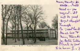 FRANCE -  Saint-Valery.  Le Casino.  Vignette - Undivided Rear - Saint Valery Sur Somme