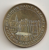 Cité De Carcassonne, Basilique Saint Nazaire. 2009 - Monnaie De Paris