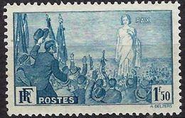 """FR YT 328 """" Pour La Paix """" 1936 Neuf** - France"""