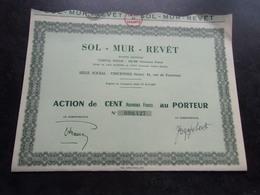 SOL MUR REVET (vincennes) - Shareholdings