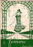 La Femme D'aujourd'hui - Suisse Romande - Revue Bimensuelle Féminine No 36 - 1er Juillet 1927 - Lausanne - 20 Pages-Mode - Books, Magazines, Comics