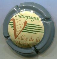 CAPSULE-CHAMPAGNE VALLEE DE LA MARNE N°19 Contour Gris - Vallée De La Marne