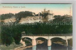 42683731 Rudelsburg Saale Bruecke Bad Koesen - Bad Kösen