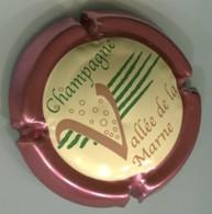 CAPSULE-CHAMPAGNE VALLEE DE LA MARNE N°16 Contour Rosé - Vallée De La Marne
