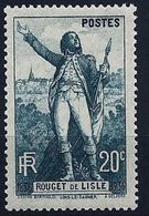 "FR YT 314 "" Rouget De Lisle "" 1936 Neuf** - Frankreich"