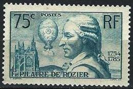 """FR YT 313 """" Pilâtre De Rozier """" 1936 Neuf** - France"""