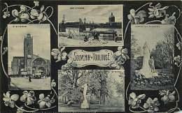 200418 - 31 TOULOUSE Souvenir De - Multivues - St Etienne Pont St Pierre Jardin Des Plantes Violette Gd Rond - Toulouse